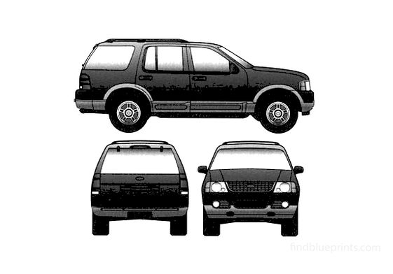 Ford Expedition SUV 2005