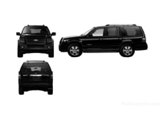 Ford Expedition SUV 2007