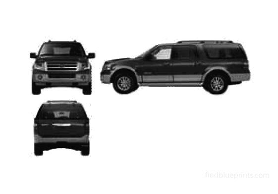 Ford Expedition EL SUV 2007