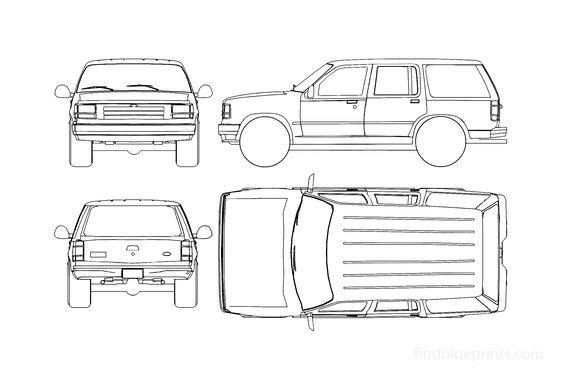 Ford Explorer SUV 1994