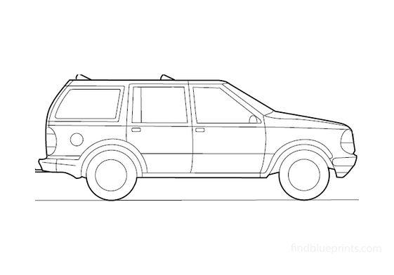 Ford Explorer SUV 1995