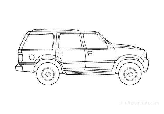 Ford Explorer SUV 1997
