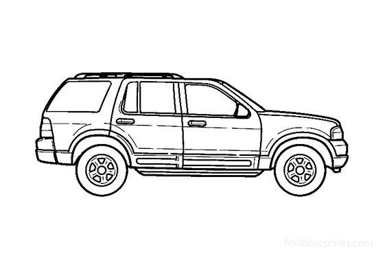 Ford Explorer SUV 2002