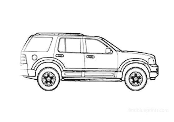 Ford Explorer SUV 2003