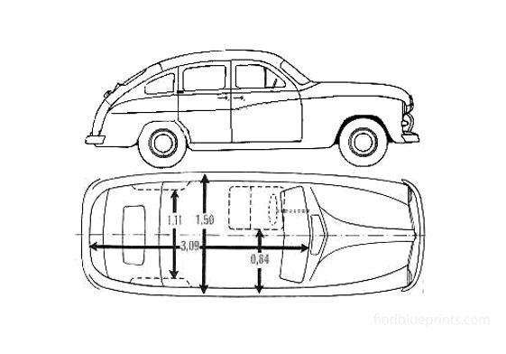 Ford F V8 Vendette Wagon 1951