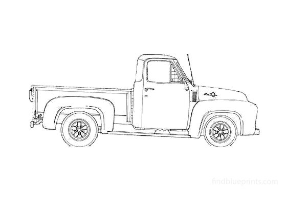 Ford F-100 Pick-up 1953