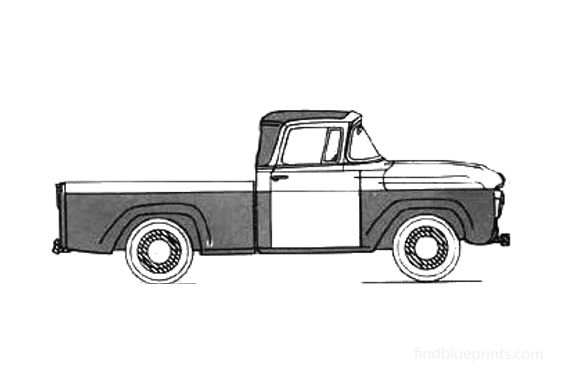 Ford F-100 Pick-up 1958