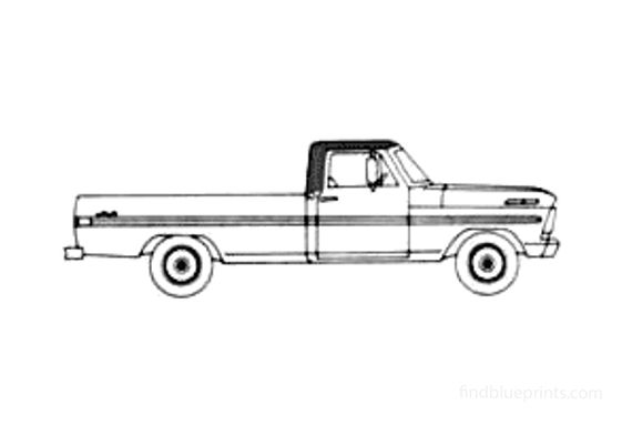 Ford F-100 Pick-up 1967