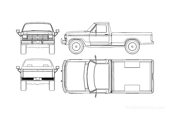 Ford F-100 Pick-up 1978