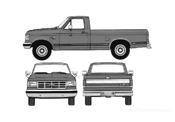 Ford F-150 Pick-up 1988