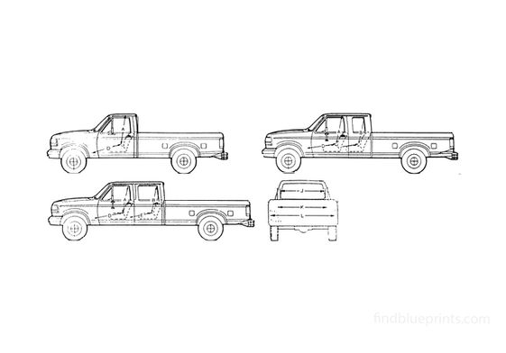 Ford F-150 Pick-up 1995