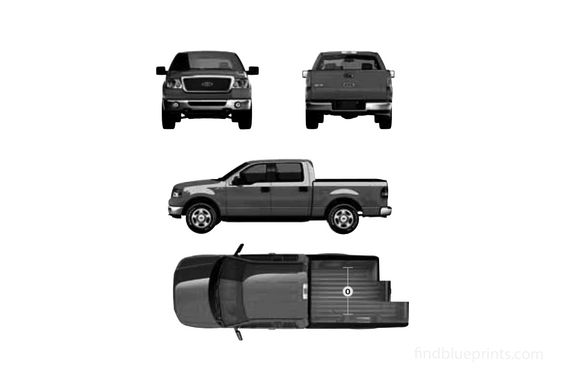 Ford F-150 Crew Cab Pick-up 2007