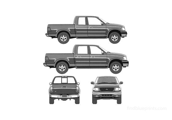 Ford F-250 Pick-up 2005