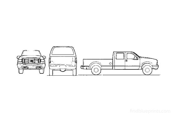 Ford F-250 Crew Cab Pick-up 2004