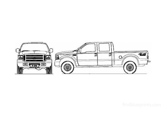 Ford F-250 Double Cabine (Brazil) Pick-up 2011