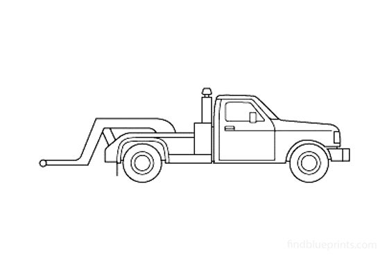 Ford F-350 Truck 1987