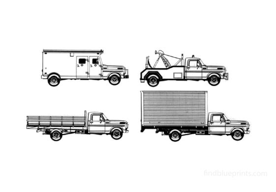 Ford F-4000 Truck