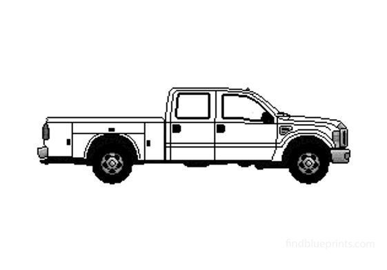 Ford F-500 Pick-up 2008