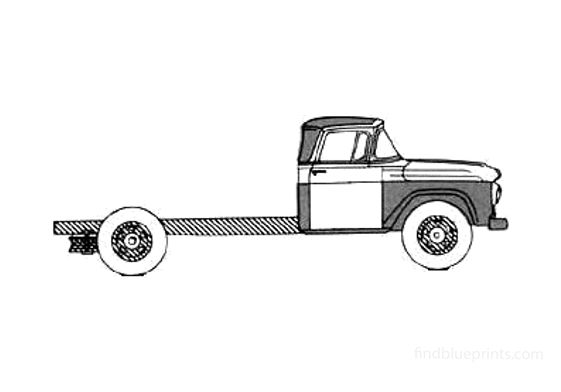 Ford F-600 Truck 1958