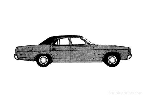 Ford Fairlane 500 Sedan 1978