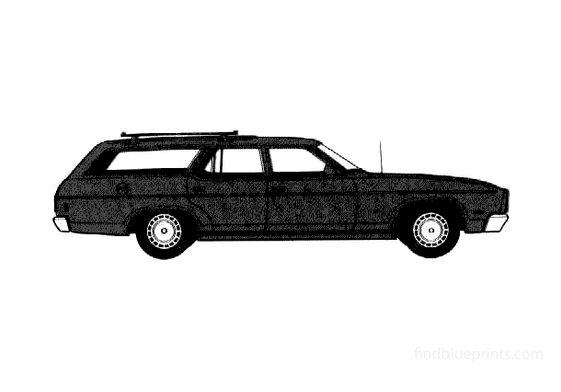 Ford Fairmont Wagon 1978