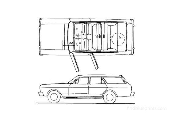 Ford Fairmont Estate Wagon 1967