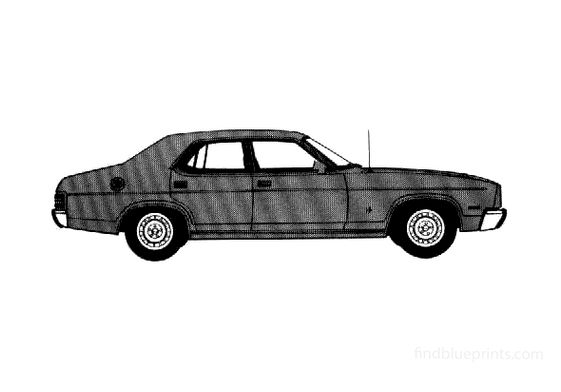 Ford Fairmont GLX Sedan 1978
