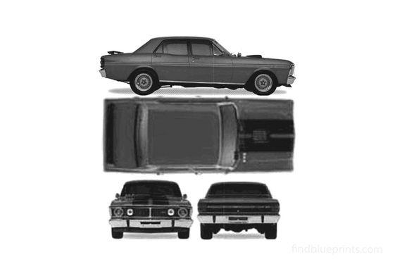 Ford Falcon GT Sedan 1971