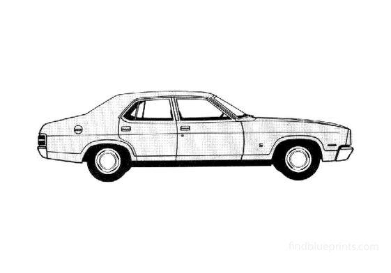 Ford Falcon Sedan 1978