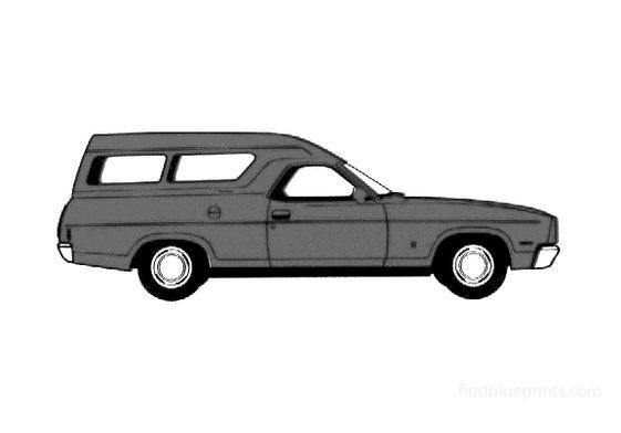 Ford Falcon Van 1978