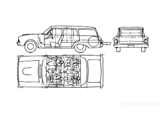 Ford Falcon Wagon 1961