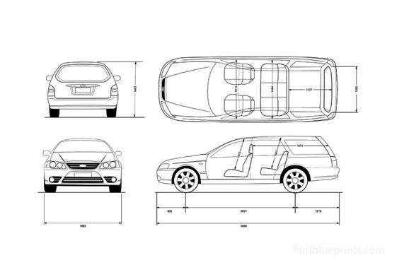 Ford Falcon Wagon 2003