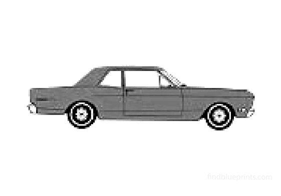 Ford Falcon Club Coupe 1968