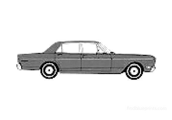 Ford Falcon Futura Sedan 1968
