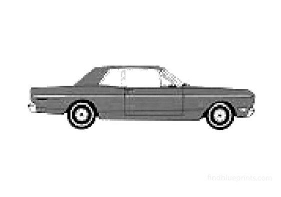 Ford Falcon Futura Club Coupe 1968