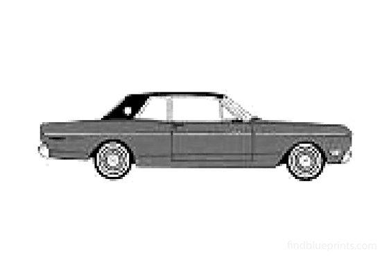 Ford Falcon Futura Sport Coupe 1968