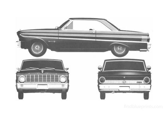 Ford Falcon Sprint Hardtop Coupe 1964