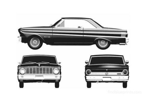 Ford Falcon Sprint Hardtop Coupe 1965