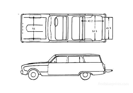 Ford Falcon Station Wagon 1960