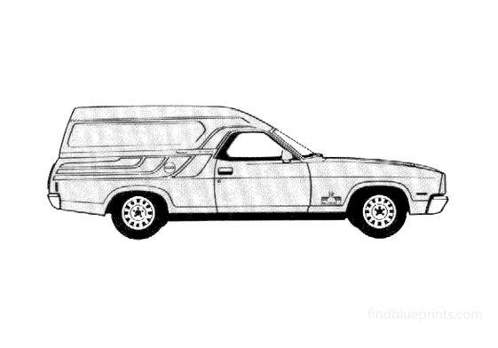 Ford Falcon Sundowner Van 1978