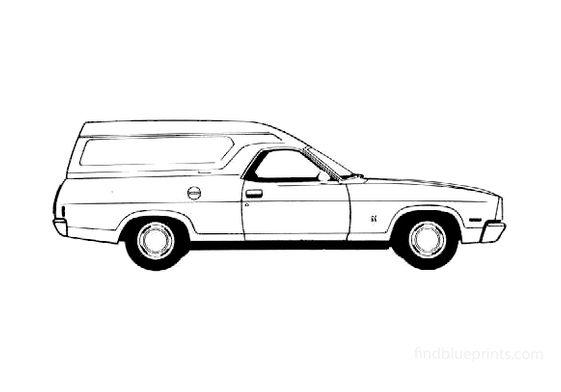 Ford Falcon Utility Van 1978