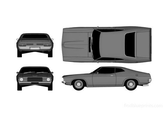 Ford Falcon XA Coupe 1972