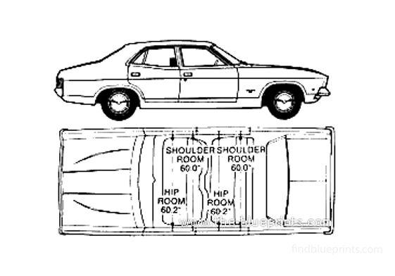 Ford Falcon XB (Australia) Sedan 1975