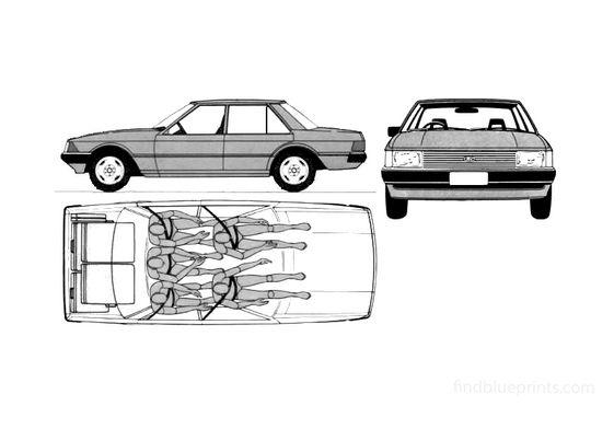 Ford Falcon XD GL Sedan 1979