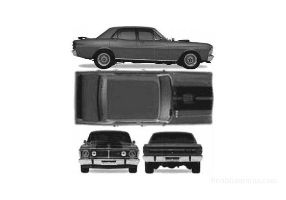 Ford Falcon XY GTHO Phase 3 (Australia) Sedan 1973