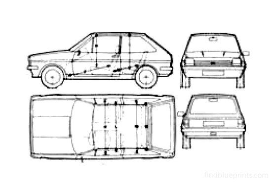 Ford Fiesta Hatchback 1979
