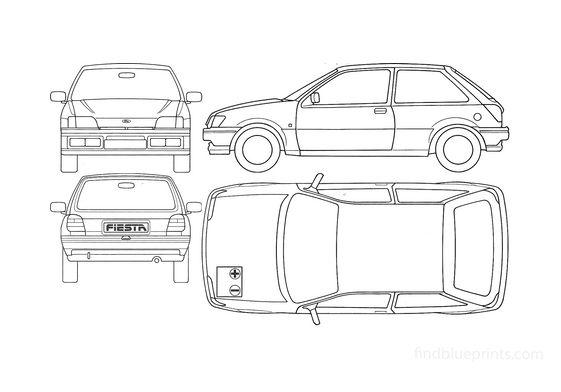 Ford Fiesta Hatchback 1989