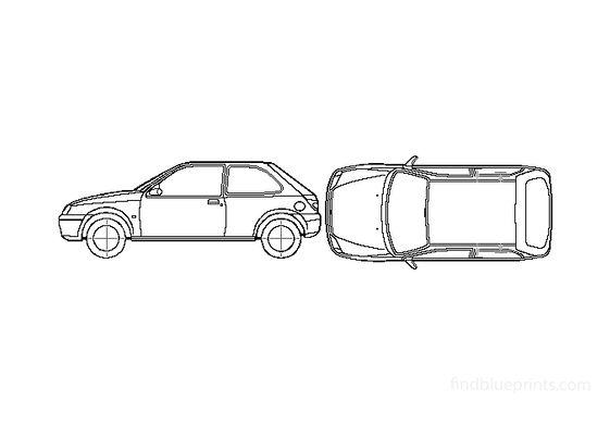 Ford Fiesta Hatchback 2001
