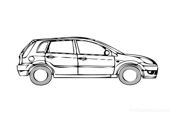 Ford Fiesta 5-door Hatchback 2008