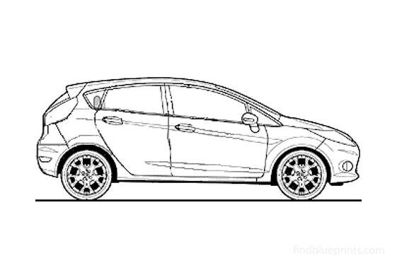 Ford Fiesta 5-door 1.4i Zetec Hatchback 2009